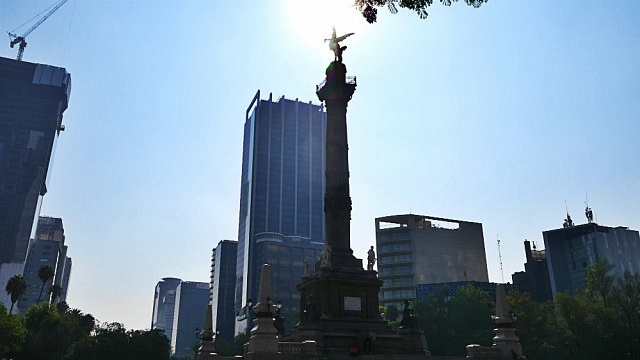Staying near Paseo de la Reforma - Mexico City