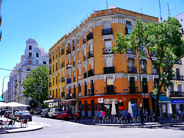 Staying in Chamberí - Madrid