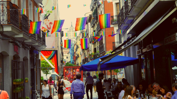 Staying in Chueca, the gay neighbourhood of Madrid