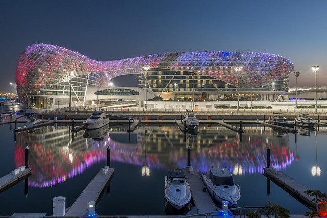 Where to stay in Abu Dabi - Yas Island