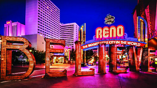 Best areas to stay in Reno- Downtown