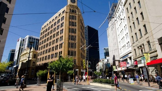 Where to stay in Wellington - Lambton Quay