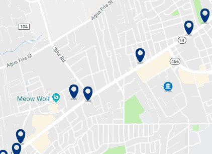 Accommodation near University of Art and Design - Click on the map to see all available accommodation in the area