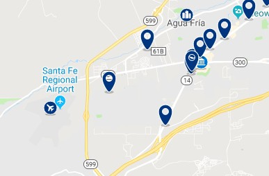 Accommodation near Santa Fe Place Mall - Click on the map to see all available accommodation in the area