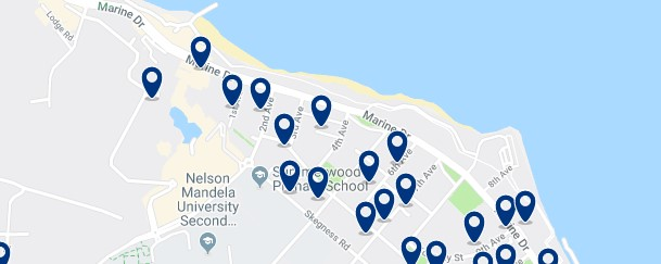 Accommodation in Pollock Beach -  Click to see all available accommodation in this area