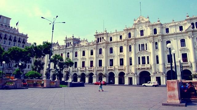 Zona recomendada para alojarse en Lima - Centro Histórico