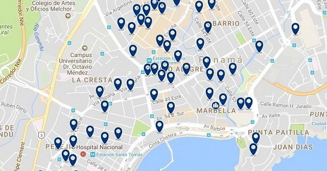 Accommodation in Bella Vista - Click on the map to see all available accommodation in this area