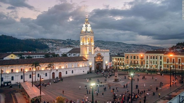 Stay in Quito's Old Town