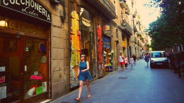 El Raval - Barrio Hipster de Barcelona