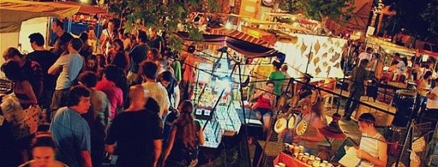 Güemes - Hipster neighborhood of Córdoba, Argentina