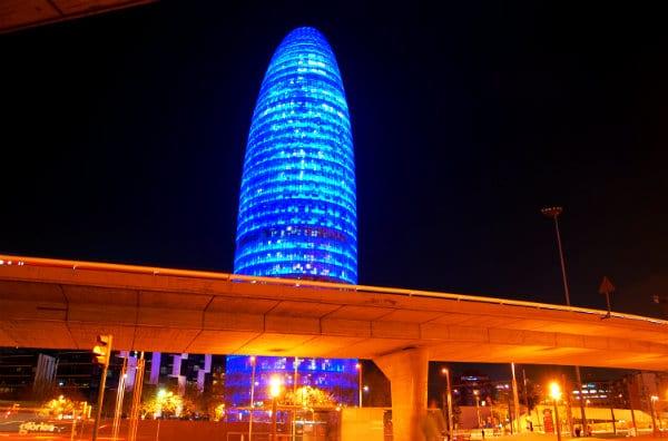 Torre Agbar - Poblenou, Barcelona