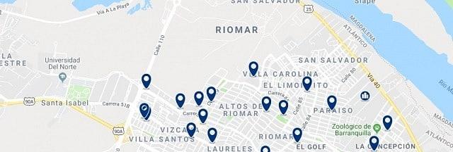 Alojamiento en Riomar - Haz clic para ver todo el alojamiento disponible en esta zona