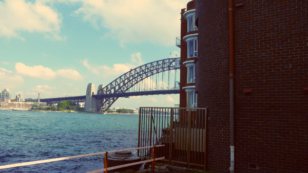 The Harbour Bridge and North Sydney - Best areas to stay in Sydney