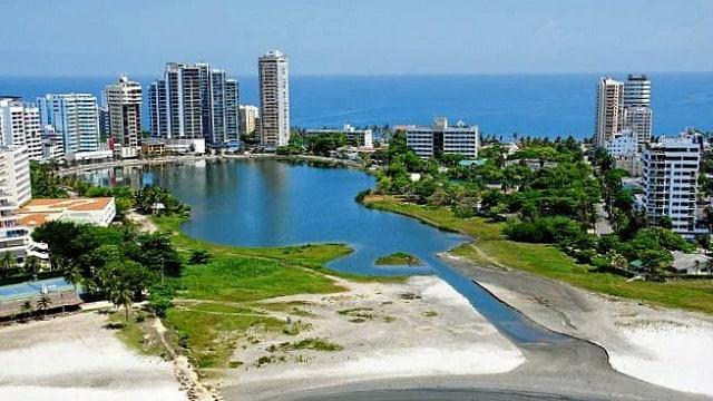 Safest area to stay in Cartagena - El Laguito