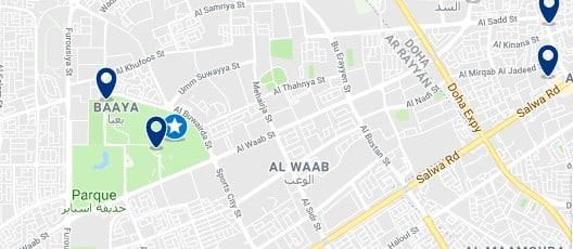 Accommodation near Khalifa International Stadium - Haz clic para ver todo el alojamiento disponible en esta zona