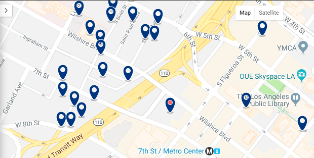 Accommodation in Historic District & Downtown – Click on the map to see all available accommodation in this area