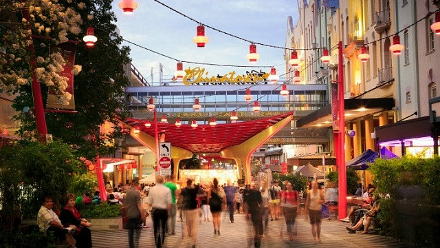 Chinatown - Fortitude Valley - Where to stay in Brisbane