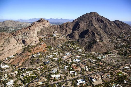 Recommended areas to stay in Phoenix - Camelback East