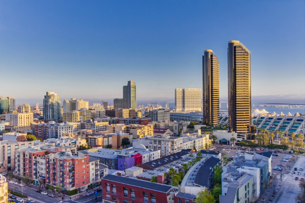 Best areas to stay in San Diego - Downtown