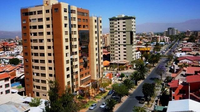 Dónde hospedarse en Cochabamba - Norte de la ciudad