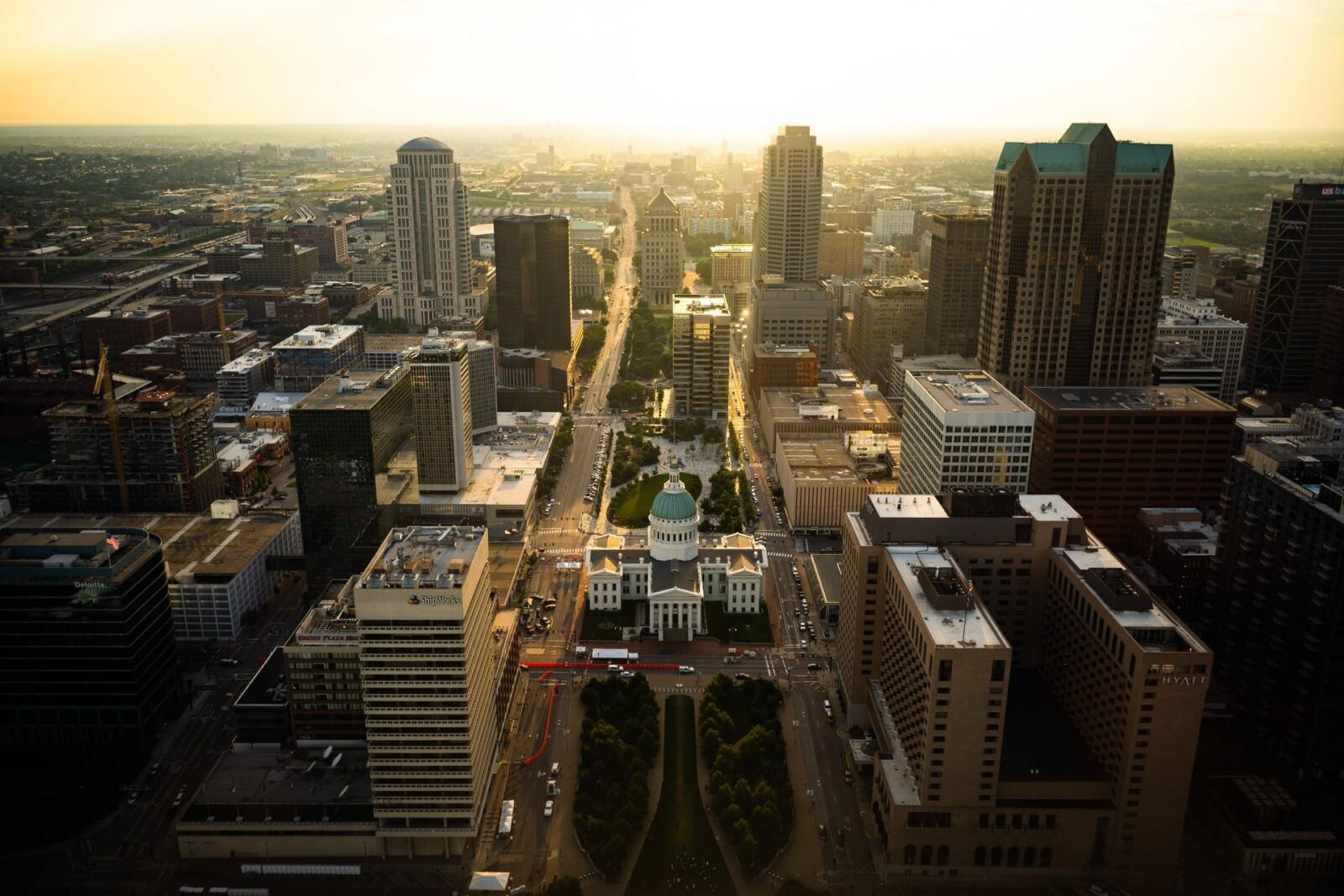 Las mejores zonas donde alojarse en St Louis, Misuri