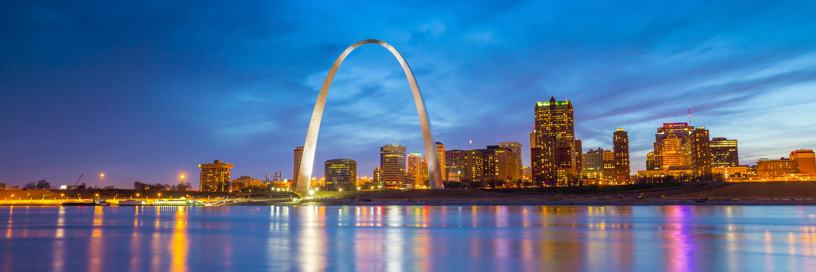 Mejores zonas donde alojarse en St. Louis, Missouri