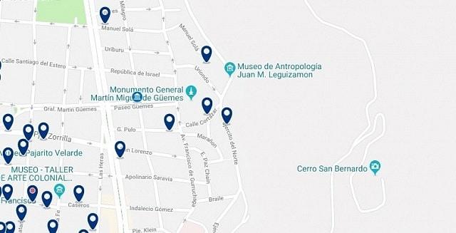 Alojamiento cerca del Monumento al General Güemes - Haz clic para ver todo el alojamiento disponible en esta zona