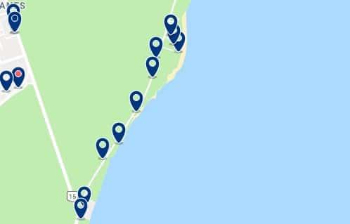 Alojamiento en Playa Paraíso - Haz clic para ver todo el alojamiento disponible en esta zona