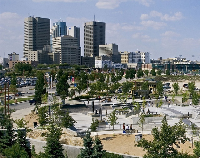 Best areas to stay in Winnipeg - City Centre (Downtown Winnipeg)