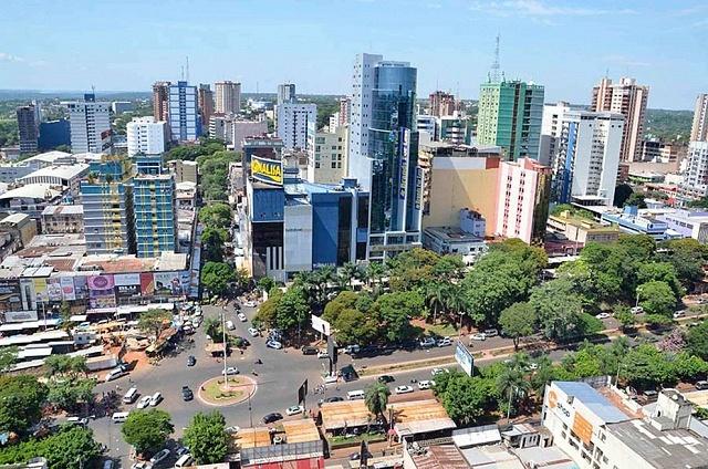 Dónde hospedarse en Ciudad del Este, Paraguay - Zona comercial