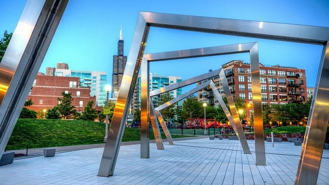 Mary Bartelme Park - West Loop - Best areas to stay in Chicago