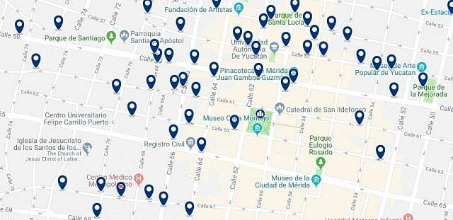 Alojamiento en Centro Histórico de Mérida - Haz clic para ver todo el alojamiento disponible en esta zona