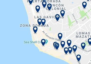 Alojamiento en la Zona Dorada – Haz clic para ver todo el alojamiento disponible en esta zona