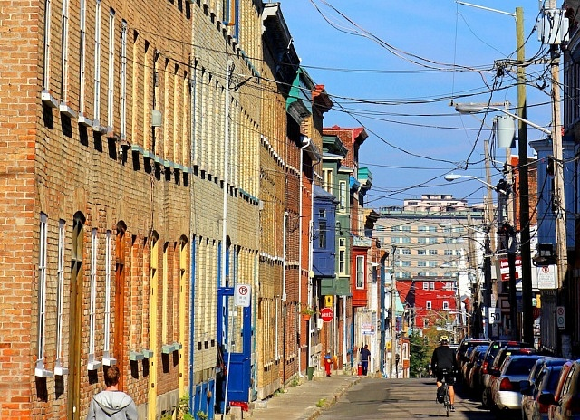 Zona recomendada donde alojarse en Quebec City - Saint-Jean Baptiste