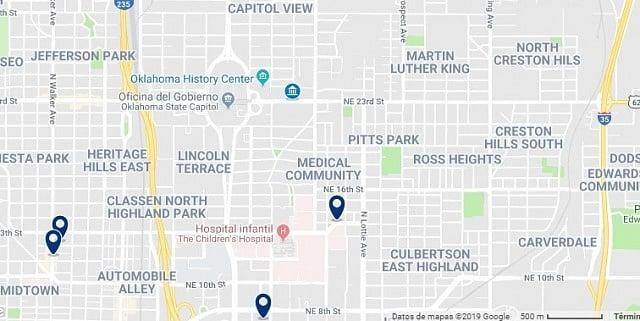 Alojamiento cerca de Oklahoma State Capitol - Haz clic para ver todo el alojamiento disponible en esta zona