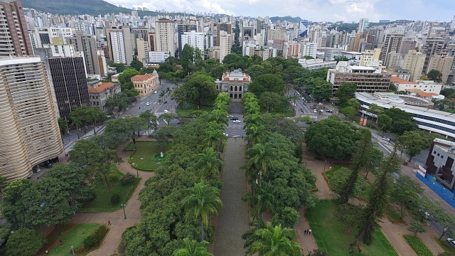 Mejores zonas donde alojarse en Belo Horizonte - Centro