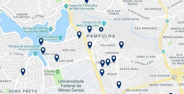Alojamiento en Pampulha - Haz clic para ver todo el alojamiento disponible en esta zona