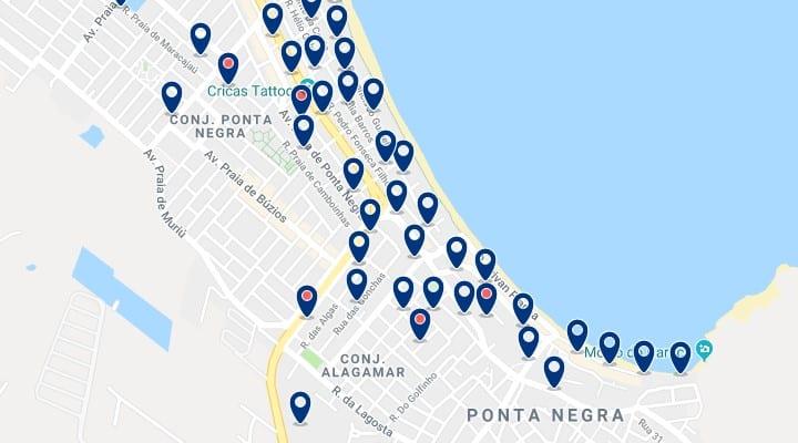 Alojamiento en Ponta Negra - Haz clic para ver todo el alojamiento disponible en esta zona