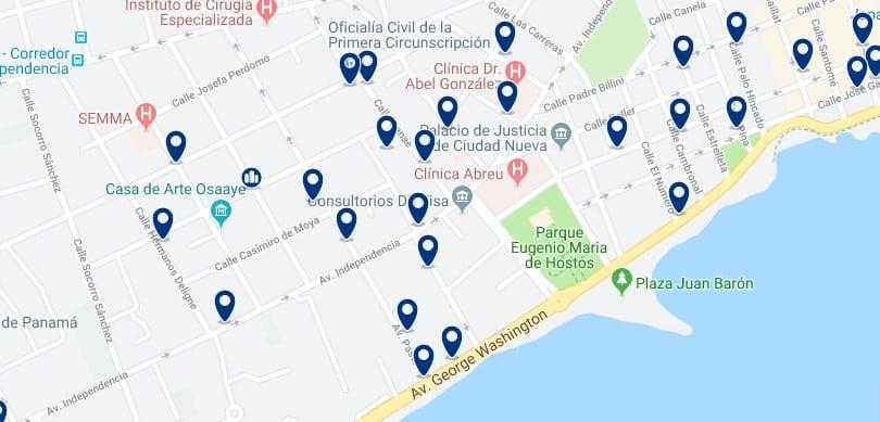 Alojamiento en Gazcue - Haz clic para ver todos el alojamiento disponible en esta zona
