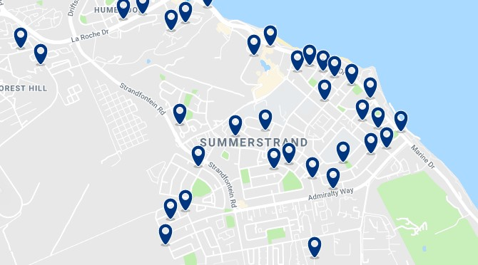 Alojamiento en Summerstrand -  Click to see all available accommodation in this area