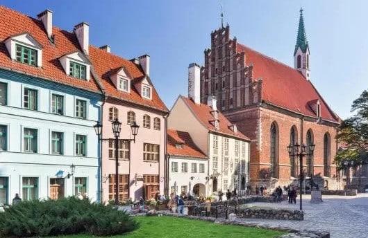 Best areas to stay in Riga, Latvia - Vecrīga