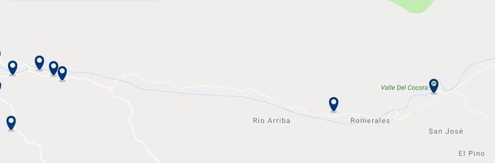 Alojamiento cerca del Valle del Cocora - Haz clic para ver todos el alojamiento disponible en esta zona