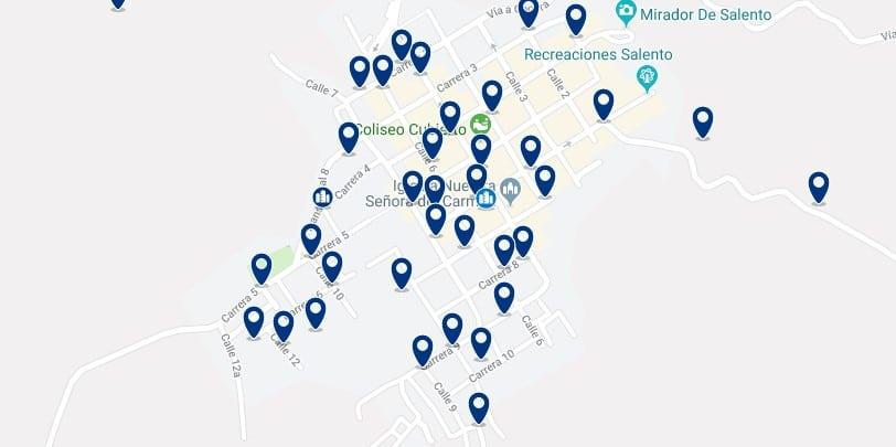 Alojamiento en el Centro de Salento - Haz clic para ver todos el alojamiento disponible en esta zona