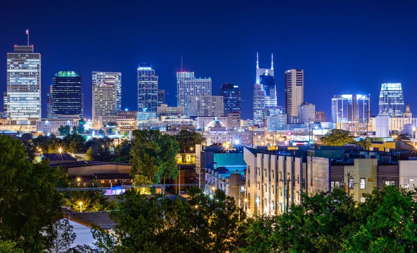 Best areas to stay in Nashville - Downtown