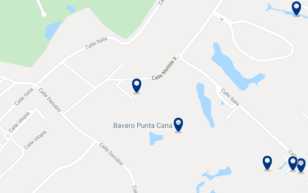 Alojamiento en la Playa Bávaro - Haz clic para ver todo el alojamiento disponible en esta zona