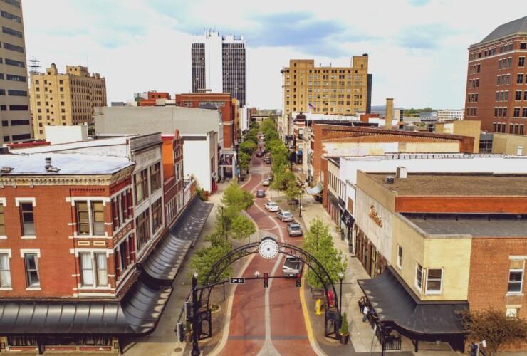 Las mejores zonas donde alojarse en Evansville, Indiana