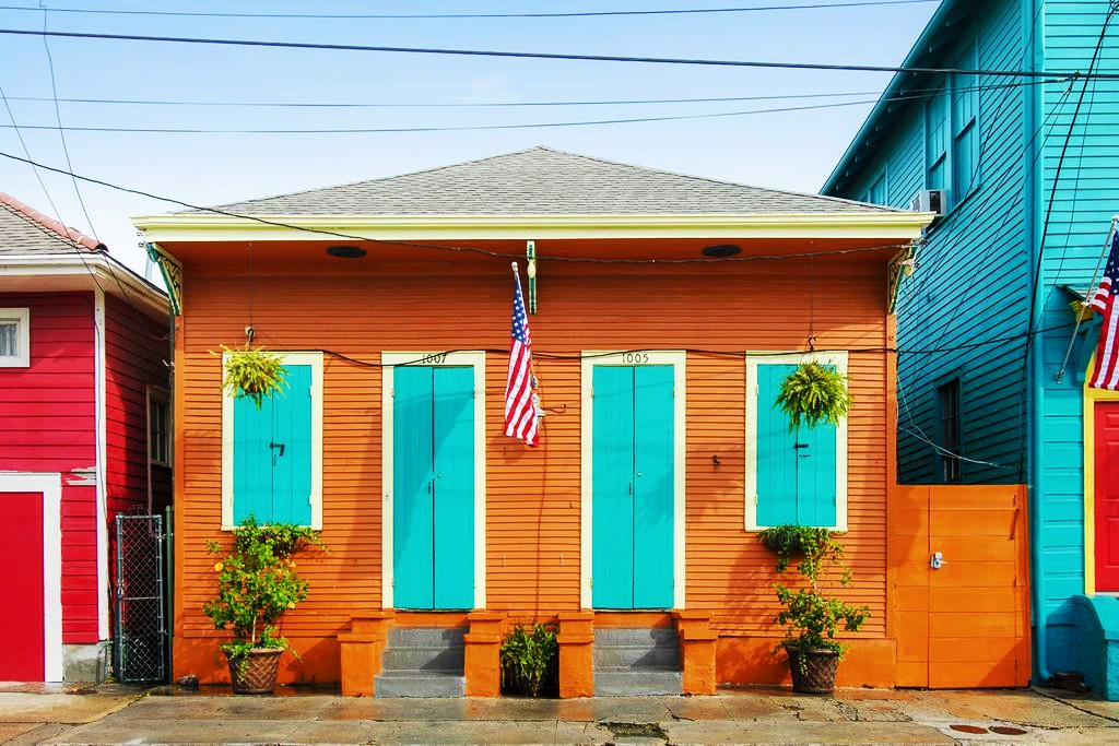 Best areas to stay in New Orleans - Faubourg Marigny