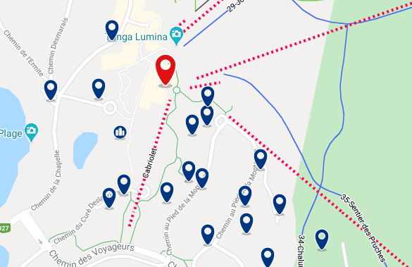 Accommodation near Mont Tremblant Activity Centre - Click on the map to see all accommodation in this area