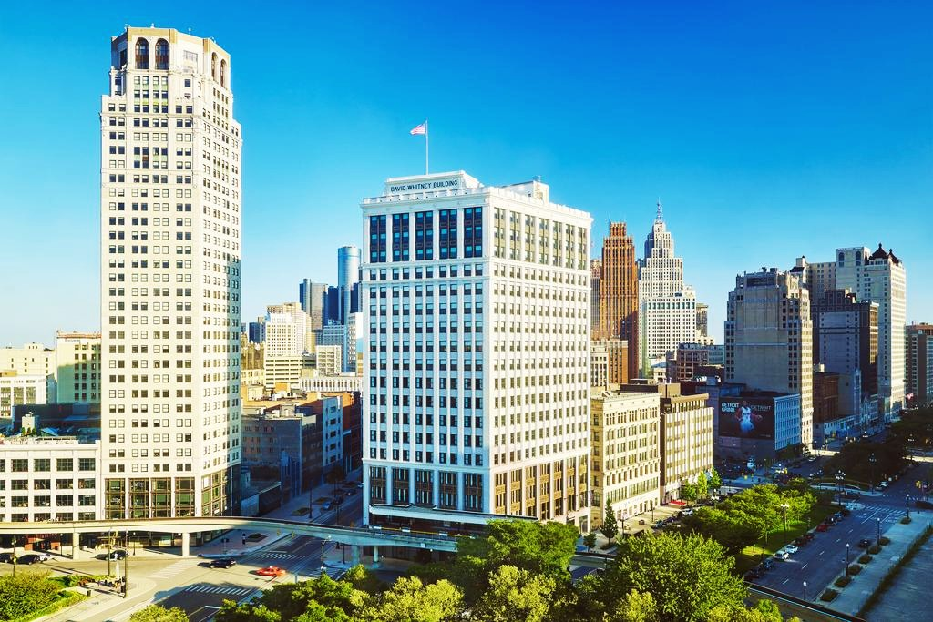 Where to stay in Detroit, Michigan - Downtown Detroit