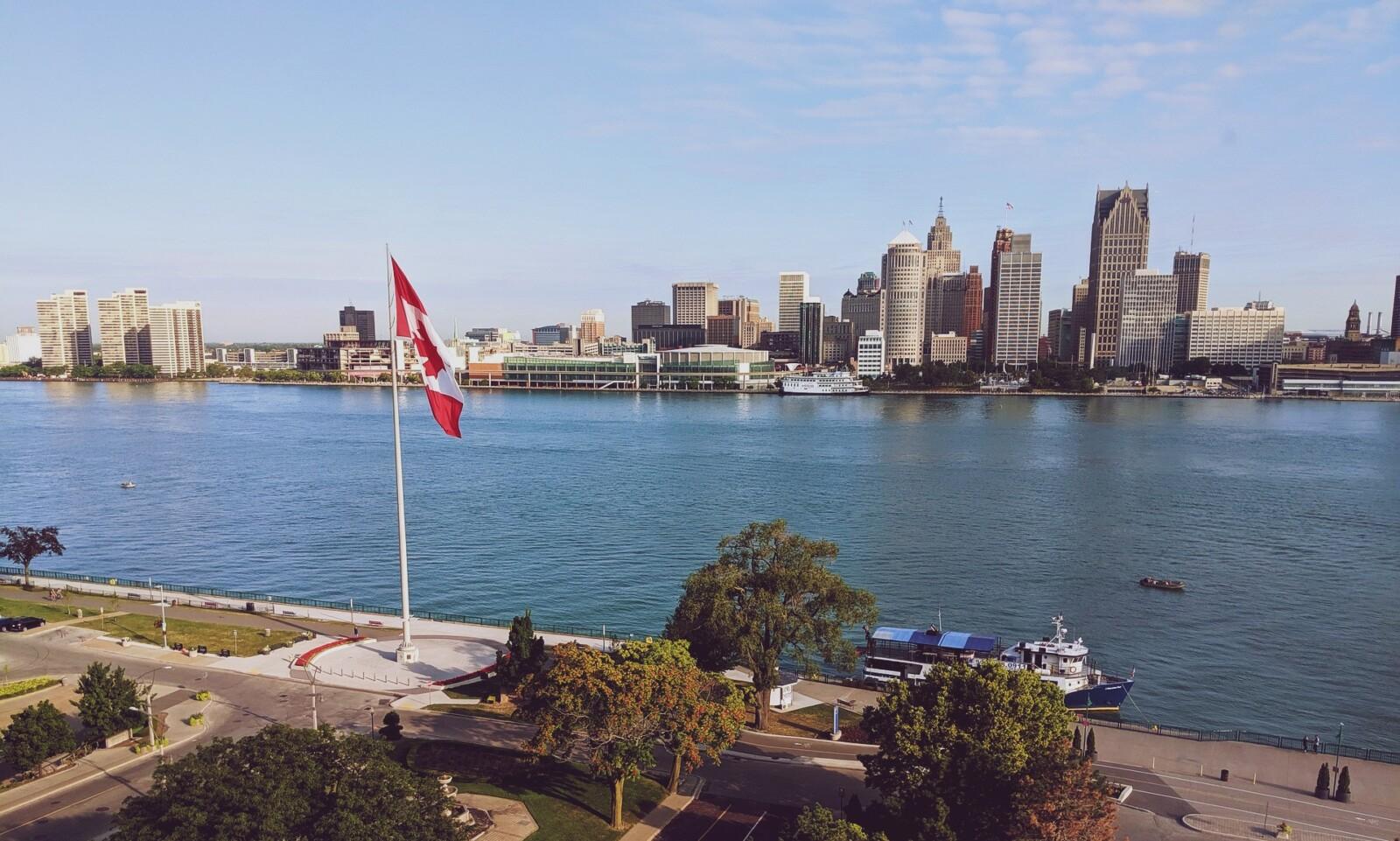 Las mejores zonas donde alojarse en Windsor, Canadá
